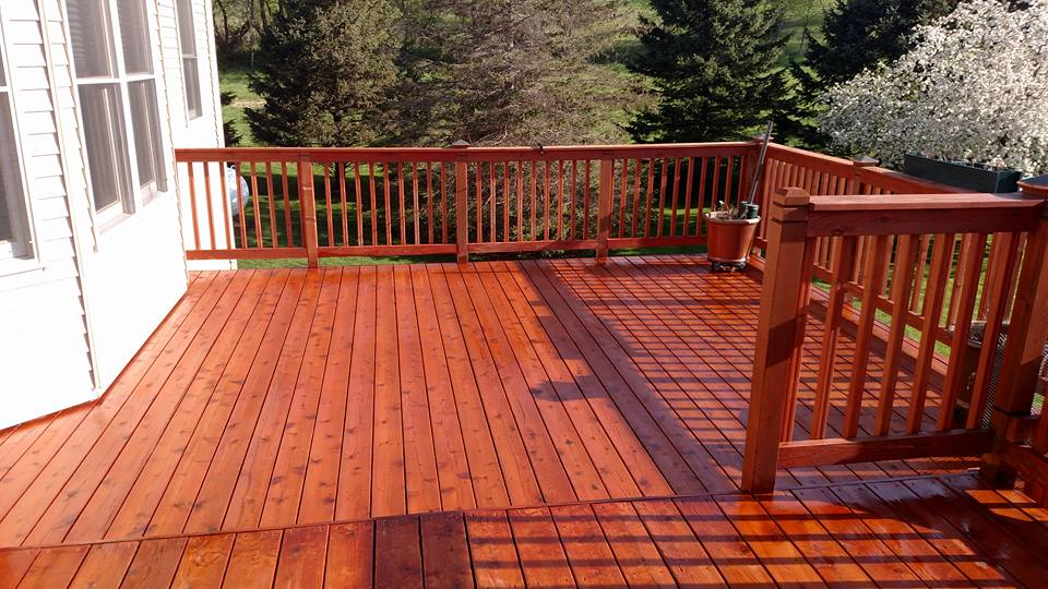 one 80 woodcare wood deck stain and sealing services rochester mn. Black Bedroom Furniture Sets. Home Design Ideas