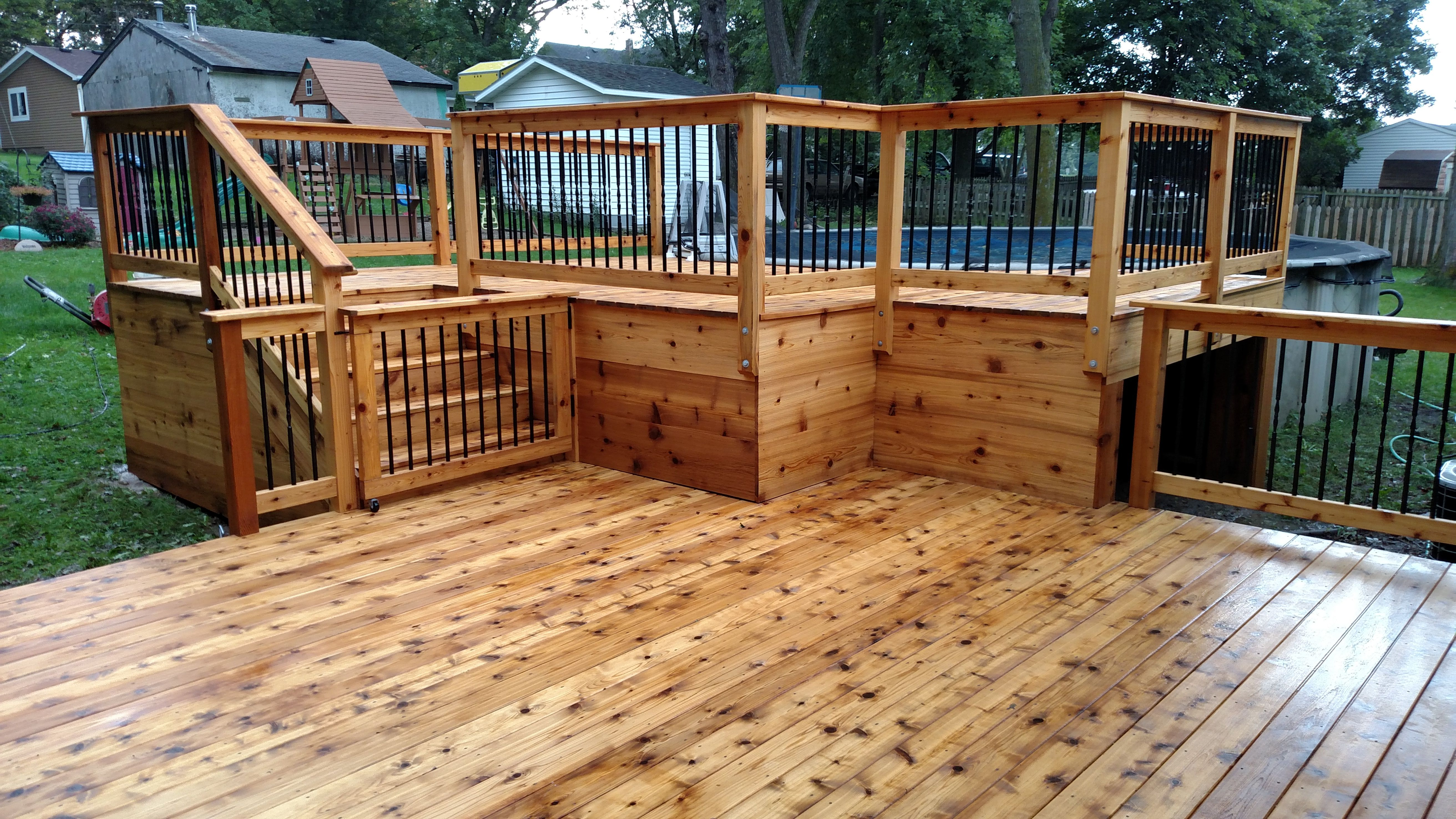 One 80 Woodcare Wood Deck Stain And Sealing Services Rochester Mn